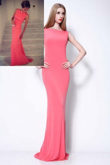 celebrity red mermaid evening dress