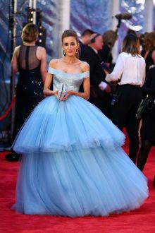 rebecca judd reveals the candy floss coloured light blue celebrity prom ball gown 2016 tv week logie awards