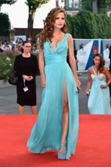 giulia electra goretti modest light blue chiffon prom dress