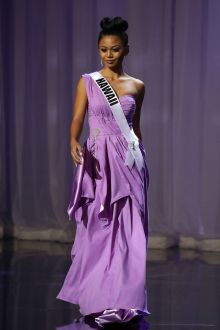 joahnnalee ucol one shoulder purple pageant dress miss teen usa 2016